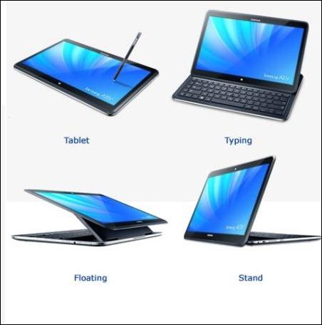 Samsung ATIV Q, el portátil convertible capaz de trabajar con Windows 8 y Android
