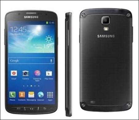 Samsung Galaxy S4 Active, resistente al agua y al polvo