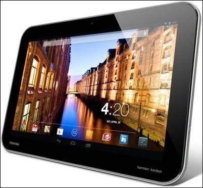 Toshiba anuncia un Tablet Android con Nvidia Tegra 4