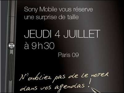 Sony presentará el Xperia Z Ultra el 4 de julio en Paris
