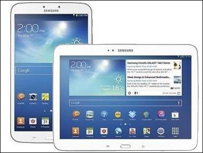Samsung presenta las nuevas Tablets Galaxy Tab 3: 8 y de 10,1