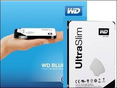 WD presenta el disco duro de 1TB más delgado del mundo