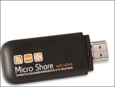 TEN GO! Micro Share permite compartir video y música a través de Wifi
