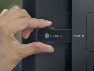 """El sistema operativo del """"Chromecast"""" de Google es Android"""