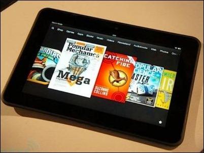 """Kindle Fire HD con Snapdragon 800 y pantalla de 8,9"""""""