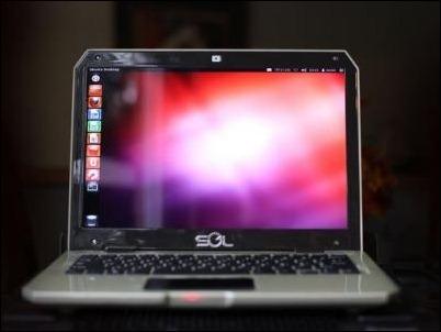 """""""Sol"""", el primer portátil con Ubuntu y carga solar"""