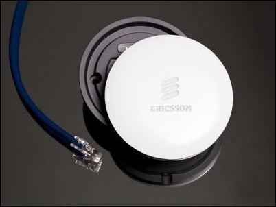 Ericsson crea una pequeña antena para dar mayor cobertura de red en interiores