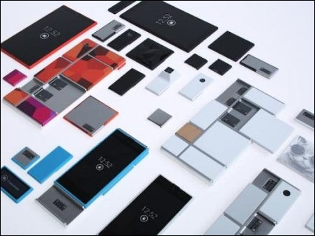 Motorola revela Project Ara, teléfonos inteligentes personalizables