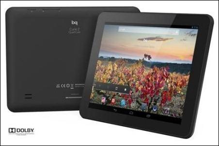 bq amplía su gama de 'tablets' con la línea Quad Core y sonido Dolby