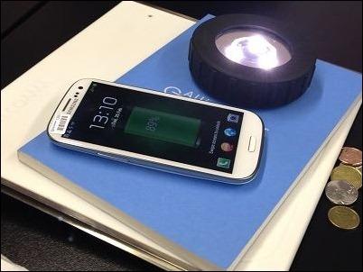 Samsung está probando la carga inalámbrica por resonancia magnética