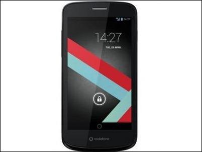 """Vodafone lanza """"Smart 4G"""", terminal lowcost con pantalla de 4,5"""" y cámara de 8 mpx"""