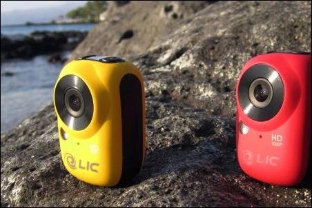 """""""Ego"""", la cámara de acción con Wifi más pequeña del mercado."""