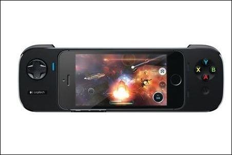 Logitech lanza su mando oficial para iPhone, con batería incorporada