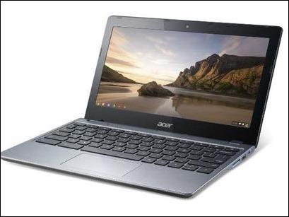 Acer presenta en España su Chromebook C720