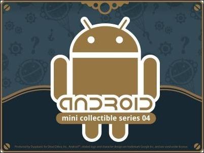 Llegan nuevas figuras coleccionables del robot de Android