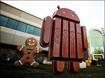 Motorola, HTC One y los Nexus 4, 7 y 10 tendrán actualización a Android Kitkat