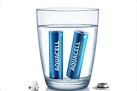 Pila ecológica funciona al sumergirla en agua