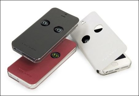 Abre los ojos al nuevo iPhone 5S: Tucano presenta una original combinación de funda & app