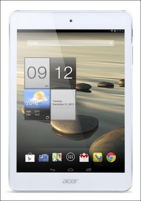 """#CES2014 :Acer Iconia A1-830, un tablet Android resistente y elegante de 7,9"""""""