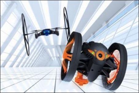 #CES2014 : Jumping Sumo y Mini Drone, los nuevos juguetes de Parrot