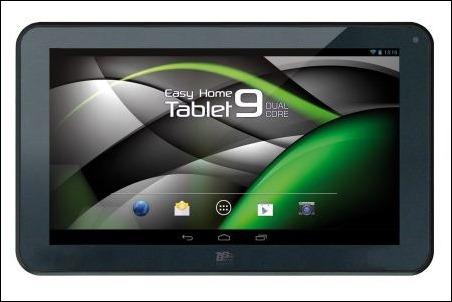 Easy Home Tablet 9 Dual Core proporciona gran potencia por menos de 100€