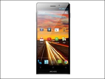#MWC2014: ARCHOS 50c Oxygen, el smartphone estrella de la marca francesa