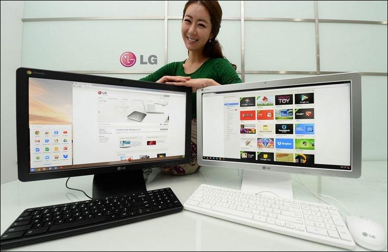 LG lanza en España, el Chromebase, PC all-in-one con Chrome OS.