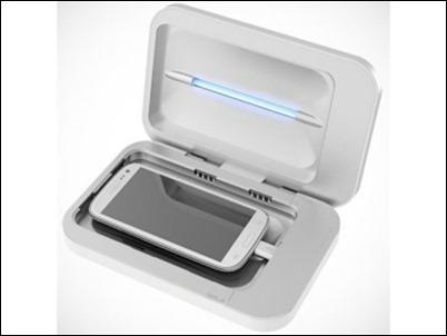 PhoneSoap, el cargador que desinfecta el móvil de gérmenes a la vez que se carga