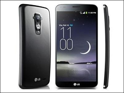 LG G Flex, el primer 'smartphone' flexible y curvado, llega a España