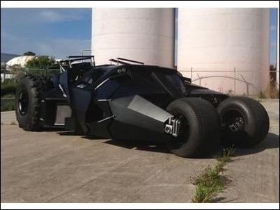 A la venta una replica del Batmovil por 1 millón de dólares