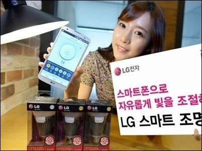 LG lanza una bombilla que se enciende cuando la llaman por teléfono