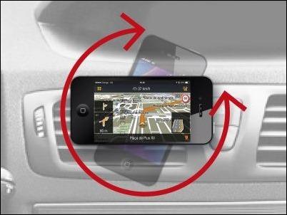 Kukaclip, único soporte de coche para iPhone