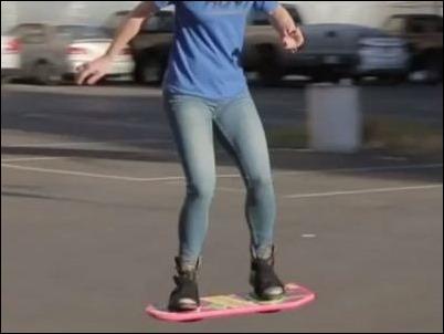 """El skate volador de """"Volver al Futuro"""", ¿a la venta en diciembre?"""