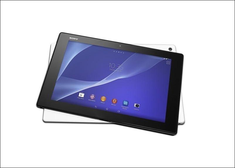 #MWC14: Sony Xperia Tablet Z2, la tablet más delgada,ligera y resistente al agua del mundo.