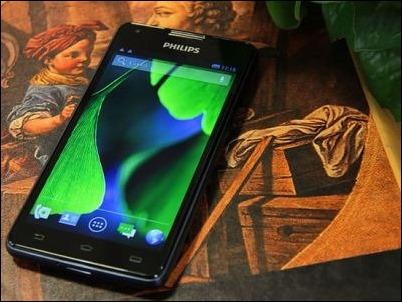 Philips lanza móvil con autonomía de 30 horas en uso continuo