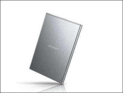 Sony disco duro HD-SG5, pequeño y ligero