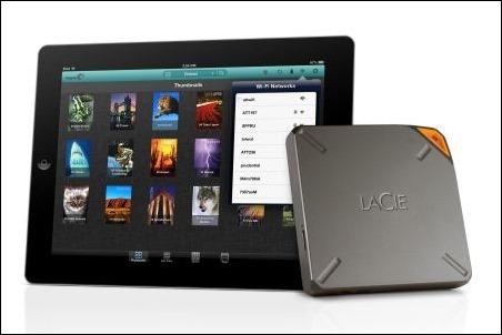 LaCie Fuel dobla su capacidad: aumenta el espacio de almacenamiento del iPad en 2TB