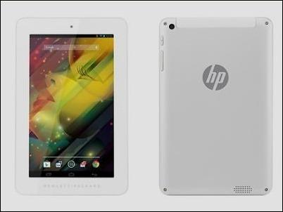 HP lanza un tablet de 7 pulgadas a 99 dólares.