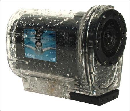 Easy Snap HD Aqual Wi-Fi cámara sumergible con conexión inalámbrica a Smartphones y Tablets