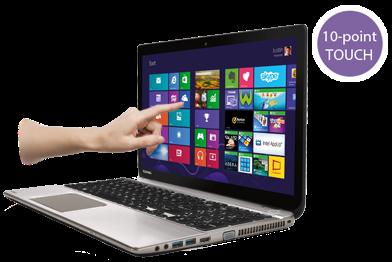 Toshiba lanza el primer portátil multimedia con pantalla táctil y resolución Ultra HD 4K