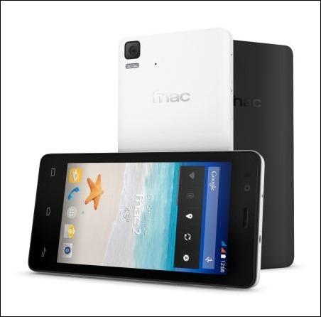 """Fnac lanza dos smartphones de 3,5"""" y 4"""""""