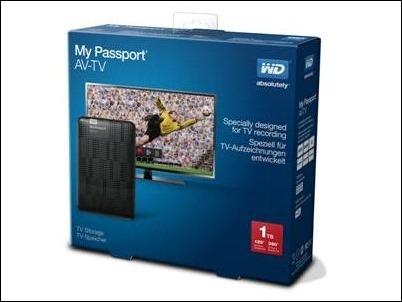 WD-my passport AVTV