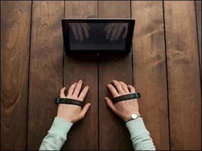 AirType, la pulsera inteligente para escribir sin teclado