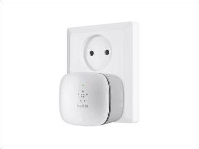 Belkin presenta un miniamplificador de alcance Wi-Fi