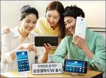 """Samsung W, el smartphone con pantalla de 7"""""""
