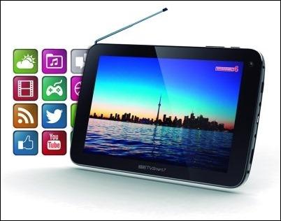Easy TV Smart 7: El televisor portátil con prestaciones de Tablet