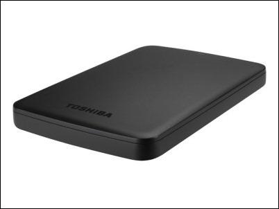 Toshiba Canvio Basics, el disco duro  de 2TB que cabe en la palma de la mano