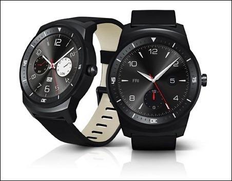 Reloj de agujas y Android Wear para el LG G Watch R