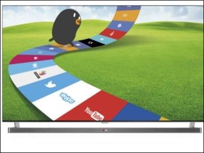 WebOS ofrece conectividad y entretenimiento a los nuevos Smart TV de LG