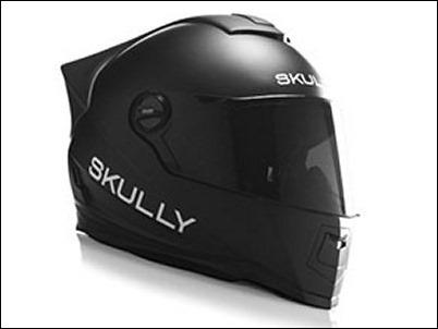 Skully AR-1: Casco con Android para motociclistas